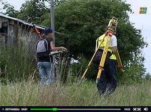 Zawód geodety okiem gorlickiej TV