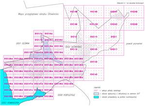 Geopoz zamawia mapę zasadniczą dla obrębu Główieniec