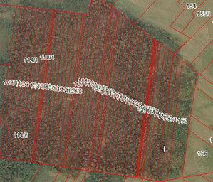 Zapowiedź konferencji o scaleniach <br /> fot. Geoportal.gov.pl