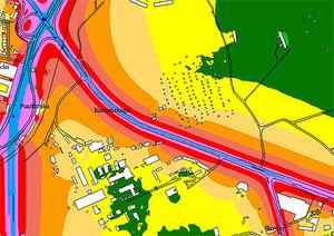 Mapy akustyczne dla GDDKiA pięć razy taniej <br /> rys. UM Krakowa