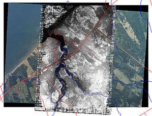 Geomatica 2012 wykrywa zmiany