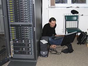WAT udoskonala superkomputer <br /> fot. WAT