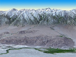 Rzeźba Ziemi jeszcze dokładniejsza <br /> fot. NASA