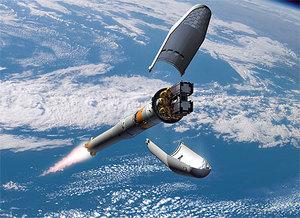 Galileo pędzi na orbitę  <br /> rys. ESA