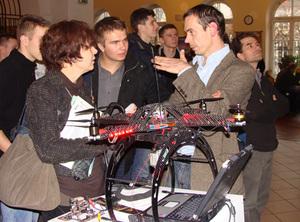GIS Day na UW też dla uczniów <br /> fot. JK, GIS Day 2010 na UW