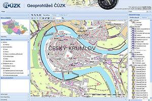 Czeski GUGiK z nowym geoportalem