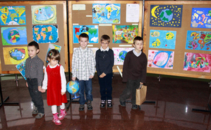 Wyniki konkursu na mapę świata wg przedszkolaka