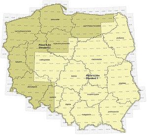 Wielu chętnych na ortofoto Polski