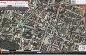 Kielce zamawiają mapę akustyczną <br /> fot. geoportal Kielce