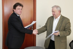 Pierwsze umowy na ortofoto dla ISOK podpisane <br /> fot. GUGiK