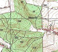Jak pokazać rzeźbę na urzędowych mapach? <br /> fot. Geoportal.gov.pl