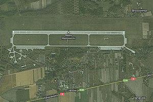 Wojsko zamawia mapy lotnisk <br /> fot. Google Maps