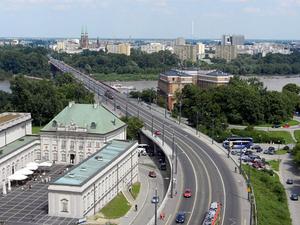 AutoMapa poprowadzi przez most Śląsko-Dąbrowski <br /> fot. Wikipedia/Przemysław Jahr