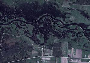 Aktualizacja zdjęć w Bing Maps <br /> Narew w okolicach Tykocina