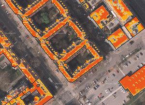 Stolica zamawia słoneczne mapy <br /> Mapa potencjału słonecznego Wiednia