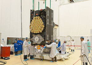 Galileo prawie gotowy do startu <br /> fot. ESA/CNES/Arianespace/Optique Video du CSG