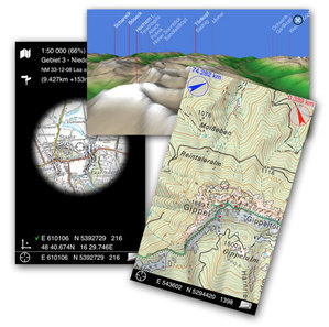 Austriacki geoportal na smartfona