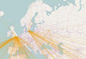 Kafelki OSM także z Rosji
