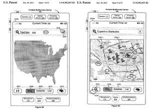 Apple patentuje dotykowe mapy