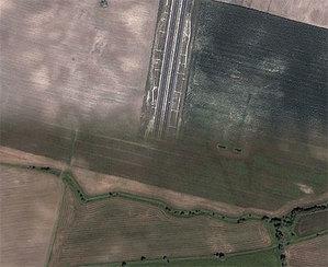 Grudziądz i Ustka w Google Earth <br /> fot. Google Earth