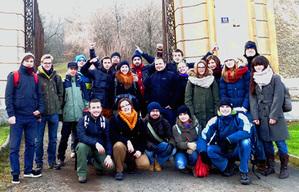 Studenci w Laboratorium Geodynamicznym w Książu