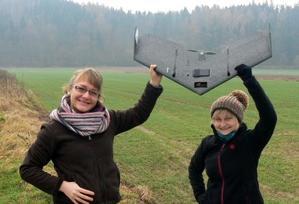 Bezzałogowiec wesprze wrocławskich geografów