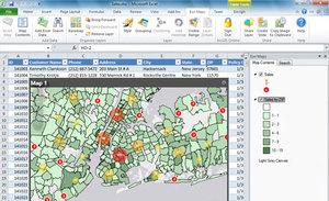 Jeszcze łatwiejsze tworzenie map w pakiecie Office