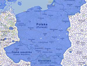 Prawie cała Polska w Street View