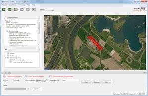 Filtruj i wygładzaj dane z dronów