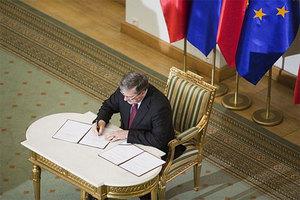 Deregulacja podpisana <br /> fot. Prezydent.pl