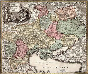 Chełm na kilkusetletnich mapach Rzeczypospolitej i Europy <br /> fot. W. Lisiecki