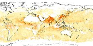 Satelitarne dane o środowisku na internetowej mapie