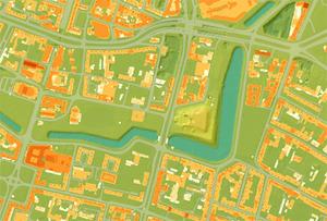 Laserowy model we wrocławskim geoportalu