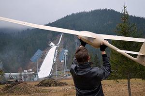 Dron dokumentował szkody po wichurze w Zakopanem
