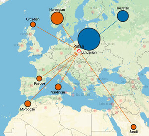 Powstał atlas genetycznej historii ludzkości