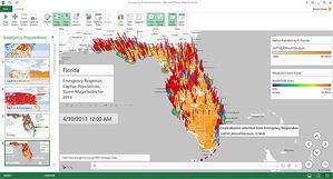 Twórz interaktywne mapy w pakiecie Office