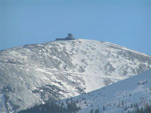 "Śnieżka ""urosła"" o metr <br /> fot. Wikipedia/Stefan Kühn"