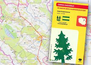 Serce Kurpiowszczyzny na gminnej mapie