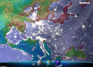 Raytheon prezentuje własne Google Earth