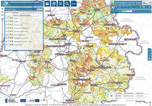 Kolejne powiaty z wektorową mapą glebowo-rolniczą