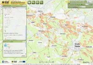 Nowy moduł i mapy w dolnośląskim geoportalu