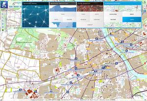 Rośnie zainteresowanie Geoportalem