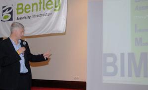 O BIM i mapie zasadniczej na seminarium Bentleya