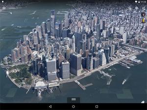 Mobilny globus Google'a przyspiesza