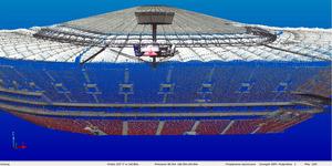 Specjaliści z TPI zeskanowali Stadion Narodowy