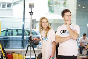 Studenckie osiągnięcia na GIS Day we Wrocławiu <br /> fot. Sylwia Marczak
