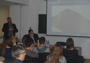 GIS Day na czterech lubelskich uczelniach <br /> fot. Mateusz Zawadzki
