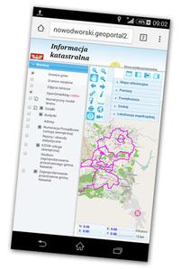 Geoportal zlokalizuje użytkownika