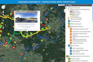Ścieżki rowerowe i zdjęcia panoramiczne na interaktywnej mapie