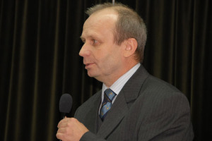 Krystian Pyka profesorem <br /> fot. z archiwum GEODETY